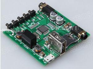 Image 4 - Adaptador receptor Bluetooth inalámbrico, decodificador de Audio, USB, DAC, tarjeta TF, 3,5 MM, AUX, para altavoz de casa, reajuste DIY