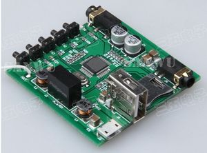 Image 4 - Bluetooth Bộ Thu Tín Hiệu Âm Thanh Không Dây USB DAC Thẻ TF Giải Mã 3.5MM AUX Cho Xe Hơi Loa Gia Đình Tái Trang Bị DIY