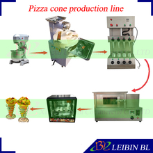 Free shipping electric dough mixer+dough ball making roller machine+pizza cone machine+pizza oven+pizza cone display cabinet