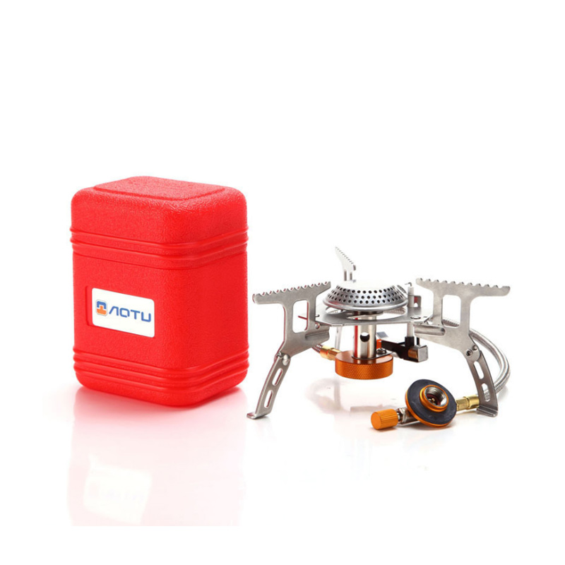 Outdoor Cooking Stove Mini Foldable Camping Gas Stove