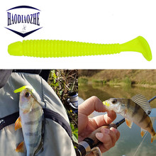 5pcs Easy Shiner Soft Lure 4.5cm 0.7g Swimbaits Silicone Vivid Fishing Lures Isca Artificial Bait Carp Fishing Ocean Fish Peach(China)