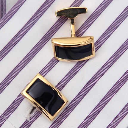 2019 KFLK Luxury shirt cufflinks for men's Brand cuff buttons Gold cuff links gemelos High Quality wedding abotoaduras Jewelry