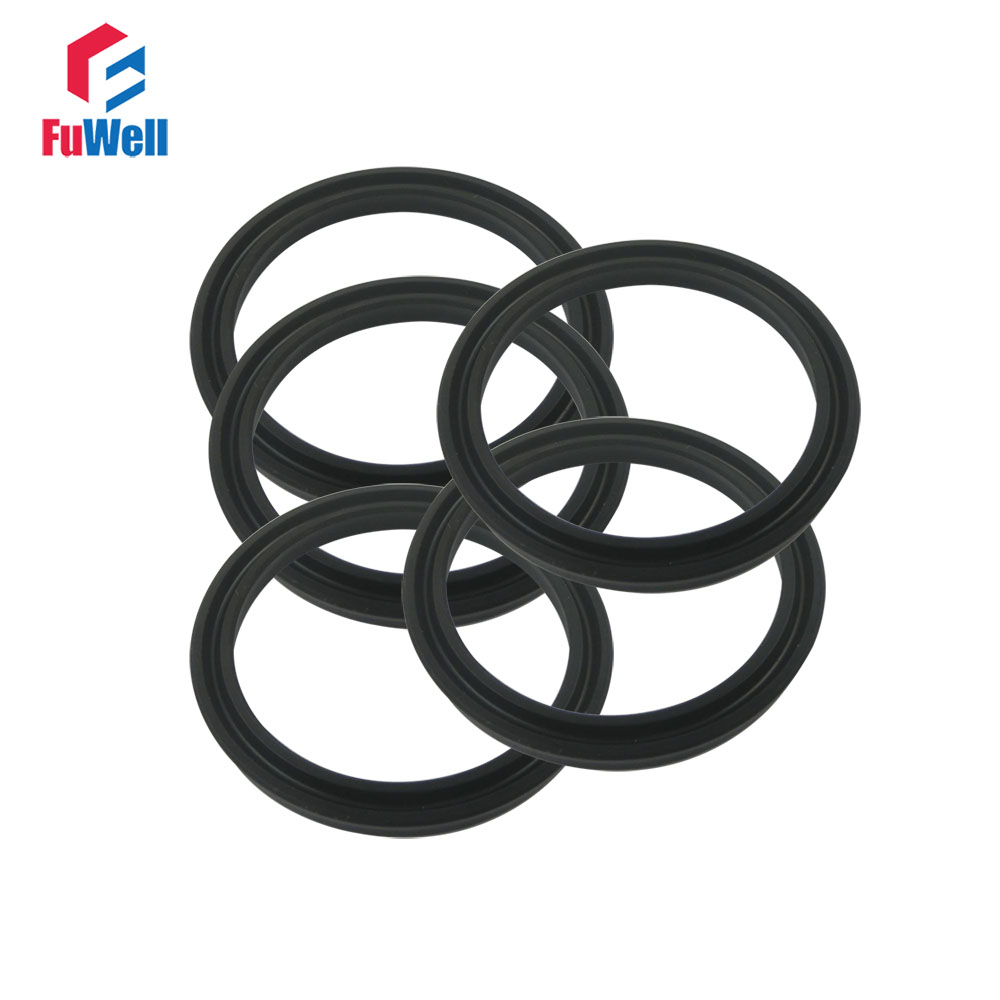 USH Type Hydraulic Oil Seal 30x40x6mm NBR Piston Seal Ring For Oil Cylinder Hydraulic Pump Oil Seal 32x42x6/36x46x6/58x68x6mm hydraulic piston seal ring uph 205x235x18mm black nbr hydraulic pump oil seal 300x332x24mm dust proof cylinder oil seal