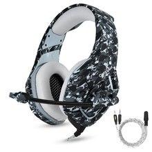 Ihens5 камуфляж PS4 игровая гарнитура шлем геймер наушники с микрофоном объем Управление для портативных ПК Новый Xbox One мобильного телефона