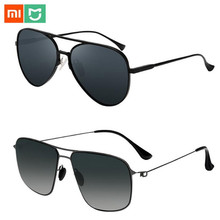 Newest Xiaomi Mijia Classic Square Sunglasses/PRO Nylon Polarized/pilot Sunglass for Outdoor Travel Man Woman Anti UV Screwless