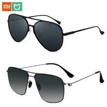 Yeni Xiaomi Mijia klasik kare güneş gözlüğü/PRO naylon polarize/pilot Sunglass açık seyahat için erkek kadın Anti UV vidasız