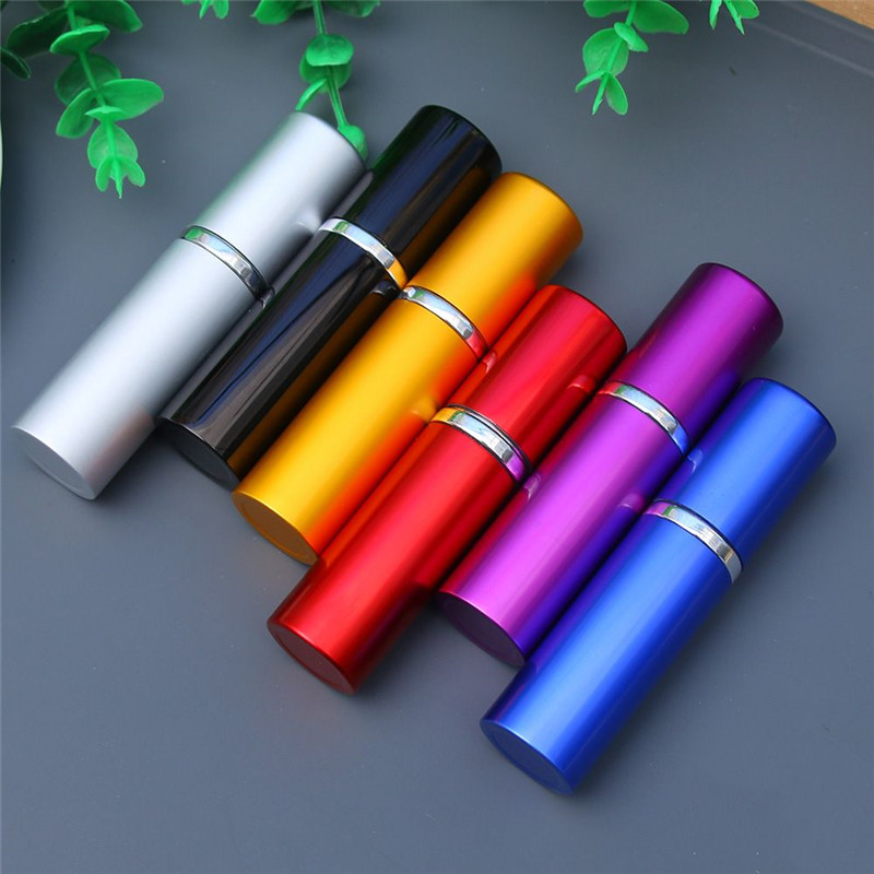 10ml Quality Aluminum Refillable Perfume Bottle Small Portable Travel Cosmetic Container Empty Spray Atomizer