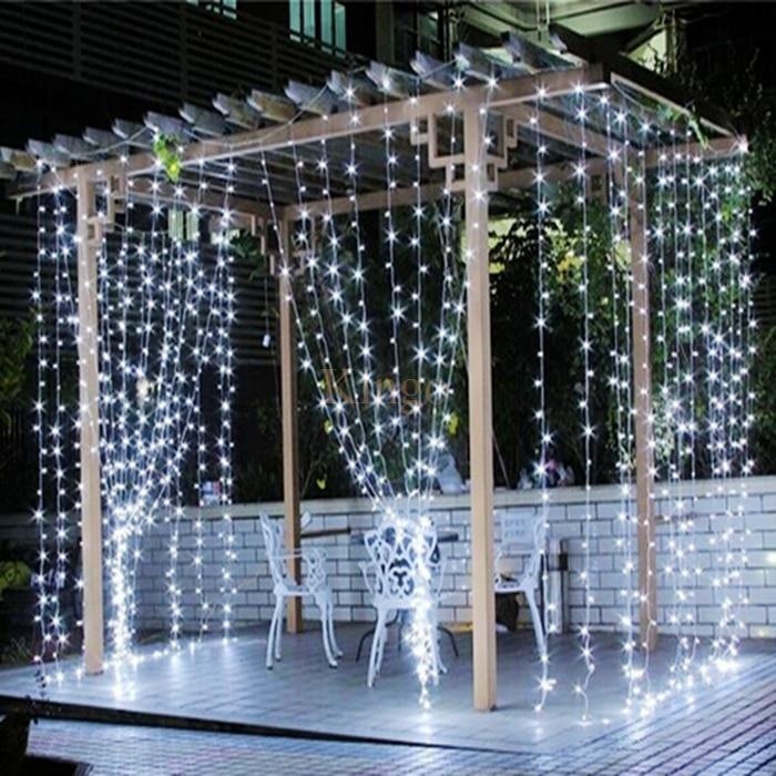 Leds Curtain Icicle Light White Warm Rgb Blue Led Decorative Lighting Zoom
