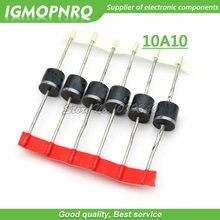 20 pz/lotto 10A10 10 Amp 1000V 10A 1KV DIP Axial Diodo Raddrizzatore, 22A Nuovo Originale
