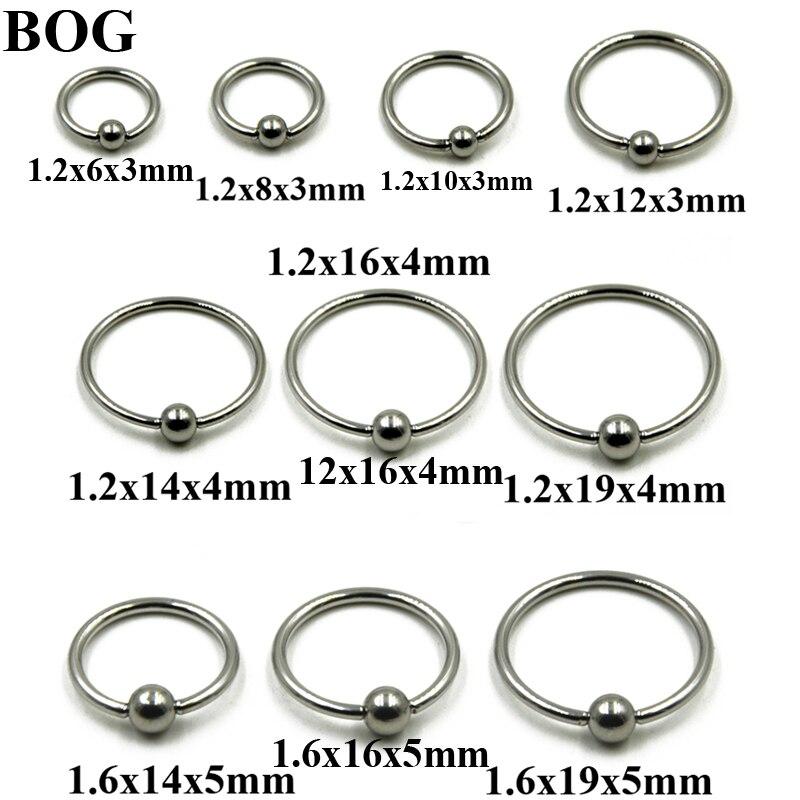 Captive Bead Ring Size Chart Yubad