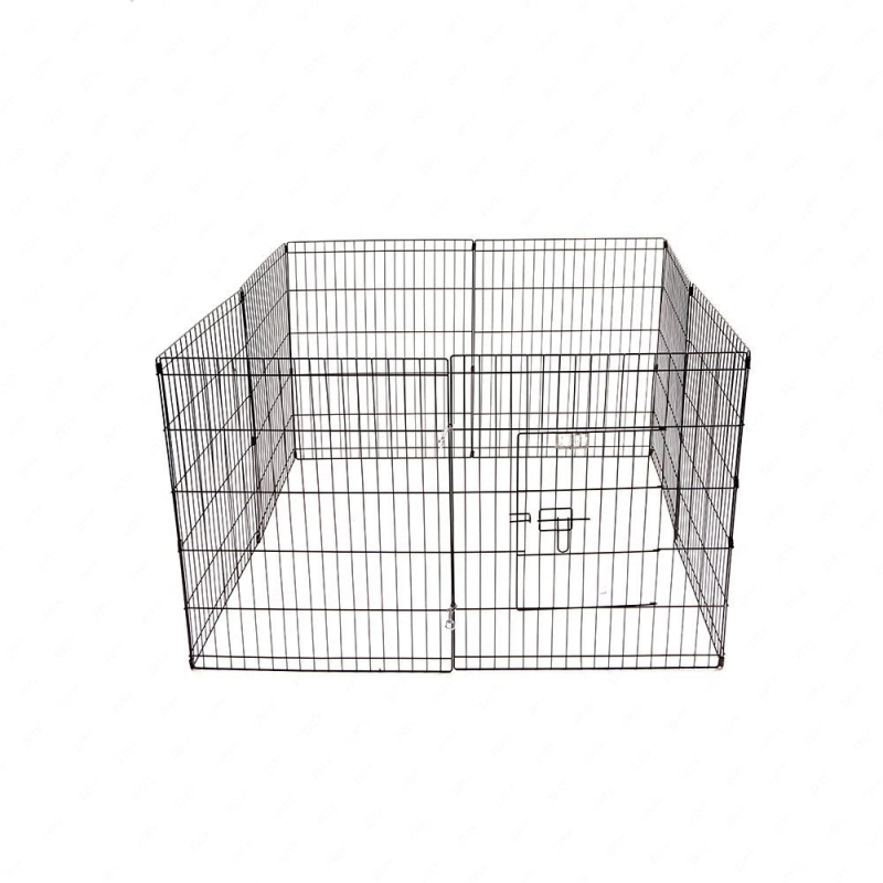 36-Tall-Wire-Fence-Pet-Dog-Cat-Folding-Exercise-Yard-8-Panel-Metal-Play-Pen-Black_6_800x800