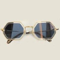 31a4aa1f5 Fashion Metal Frame Square Sunglasses For Women Mens High Quality Vintage  Retro Polarized Sunglasses UV400 Protection