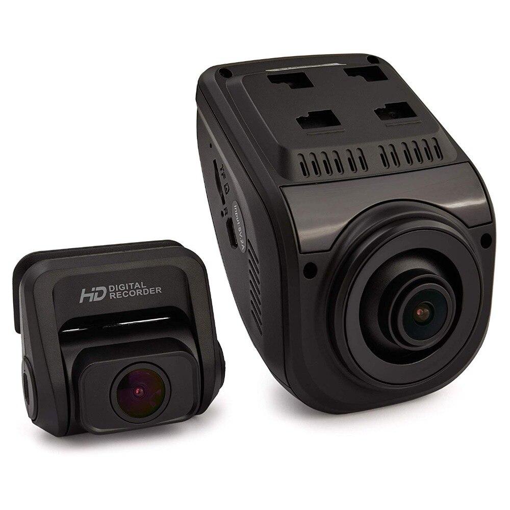 Rexing V1P 3rd поколения Wi-Fi Двойной 1080 P + 1080P Full HD спереди и сзади Камера 170 градусов Широкий формат автомобиля регистраторы