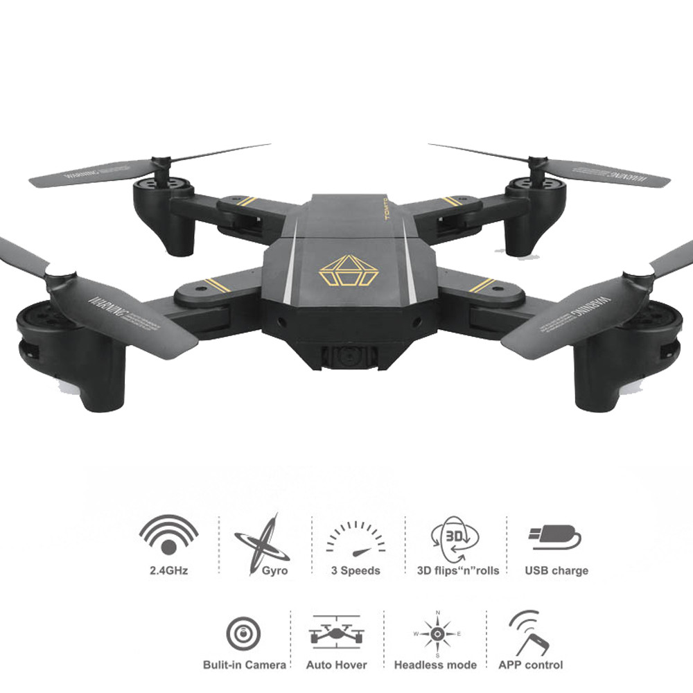 RC Helicopters For Radio Control FPV 720P Dron 120 Fov Drone With Camera 2Mp 3D Flip Foldable Quadcopter  6-Axis Flight No24b original jjrc h28 4ch 6 axis gyro removable arms rtf rc quadcopter with one key return headless mode drone