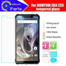 HOMTOM ZOJI Z33 Gehärtetem Glas 100% Original Premium 9 H 2.5D Screen Protector Film Für HOMTOM ZOJI Z33 Telefon (nicht Volle Abdeckung)