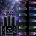 Bluesky Effect Nail Gel Polish LED UV Gel Nail Polish VIP Star soak off Gel Polish 12 colors Gel Lacquer