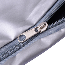 Waterproof Oxford Fabric Grey Outboard Full Body Engine Cover Protective Bag For 40-50HP Boat Motor