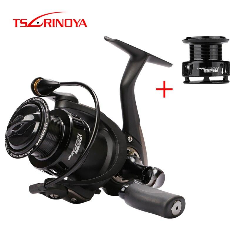 TSURINOYA Fishing Reel FALCON  Series 8+1BB 5.2:1 Freshwater Saltwater Reel Long Casting Spinning Reel Wheel