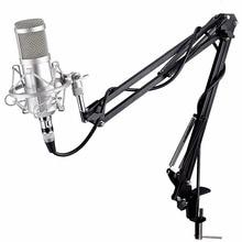 Professional KTV Microphone bm 800 BM800 Condenser Cardioid Pro Audio Studio Vocal Recording Mic KTV Karaoke+ Metal Shock Mount