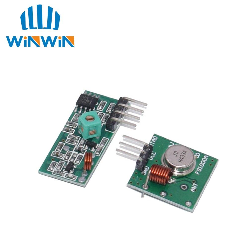 D01 50 пар(100 шт) 433 МГц РЧ передатчик и приемник link kit