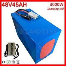 48 V 1500 W 2500 W 3000 W литиевая батарея 48 V 45AH электрическая велосипедная батарея 48 V 45AH аккумулятора электроскутера для использования samsung Cell+ зарядное устройство