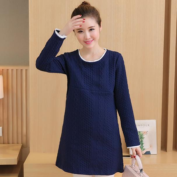 Cotton Maternity Dresses Nursing Top Clothes Breastfeeding Tops T-shirts Clothing for Feeding Blouses &Shirts Spring Autumn B228