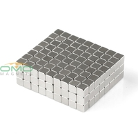 OMO Magnetics 216 Super Magnet 5mm x 5mm x 5mm Magnet Rare Earth Strong Power Magnets For Industry