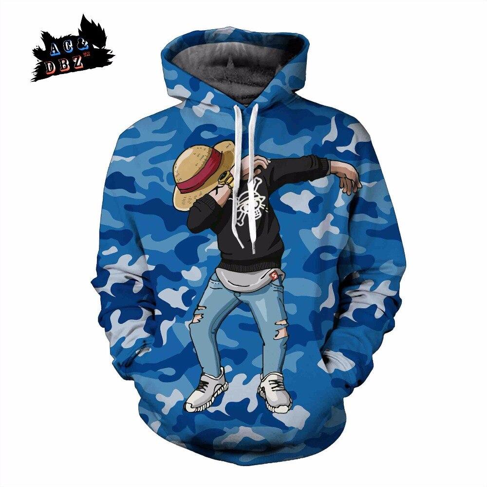 AC&DBZ New Camo Fashion Pocket Hoodie Sweatshirt Top One Piece DAB Street Hip Hop Ludo 3 ...
