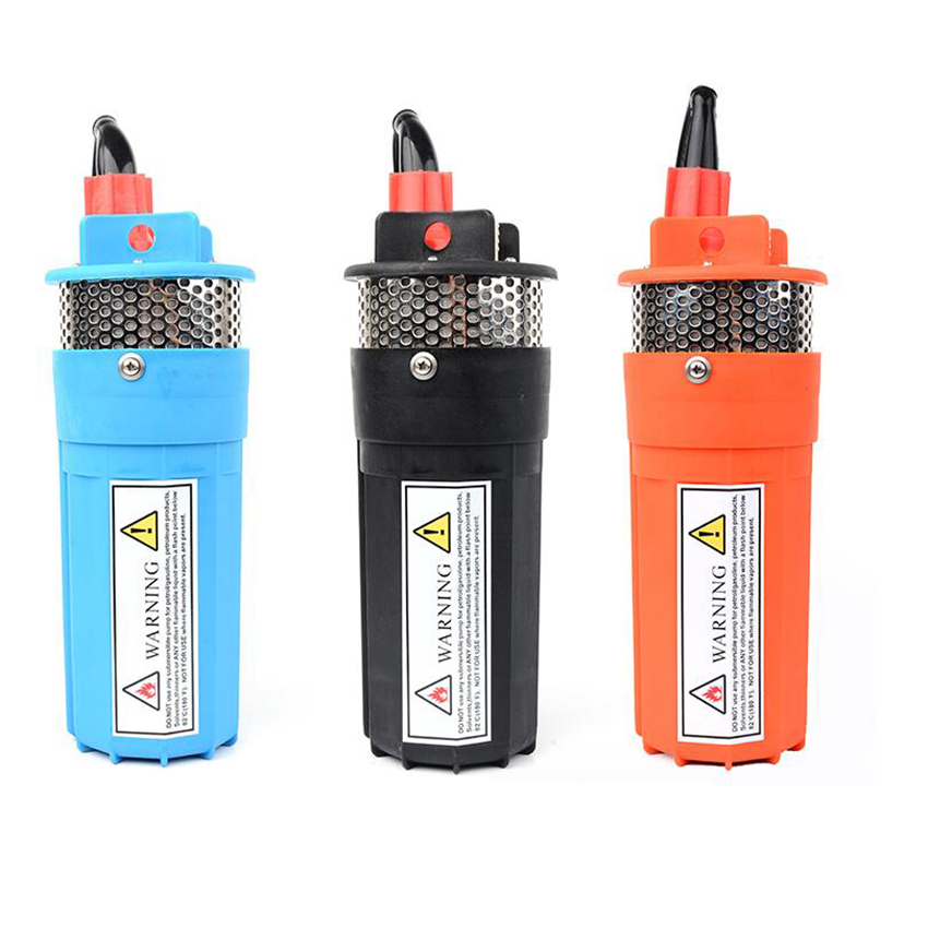 DC 12V/24V 6L/min Lift=70m Deep Well Submersible Pump For Solar Energy Panels,Small/Mini Electric,Water Transfer,12 V 24 Volt dc solar submersible pump price 12v 24v 6l min lift 70meter diaphragm dc pump for 30m deep well free shipping