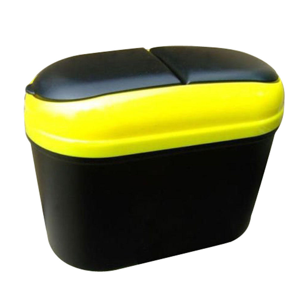 Car Auto Trash Garbage Dust Rubbish Bin Can Box Holder Hook Various Colors