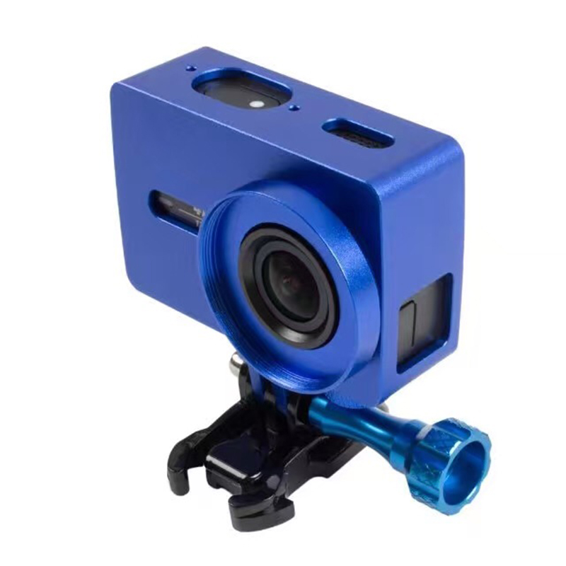 Metal Aluminum Frame Protective Case Boarder For Xiaomi Yi 2 Xiaoyi 2 4K Action Sport Camera