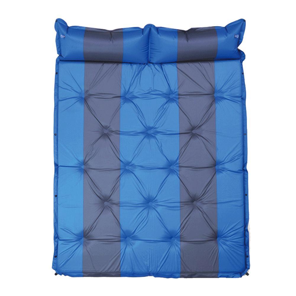 Lit de voyage de Camping en plein Air tapis étanche à l'humidité SUV voiture auto conduite Tours matelas gonflable siège tapis gonflable avec pompe à Air - 4