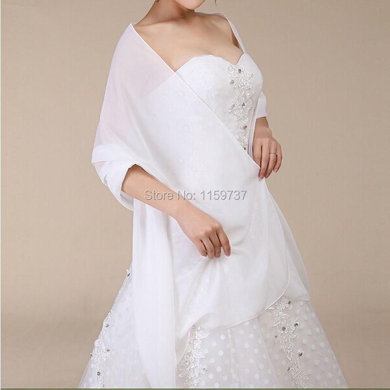 Aliexpress Com Buy New Design Simple But Elegant Short: Free Custom Made Bridal Wedding Shawl Elegant Bride