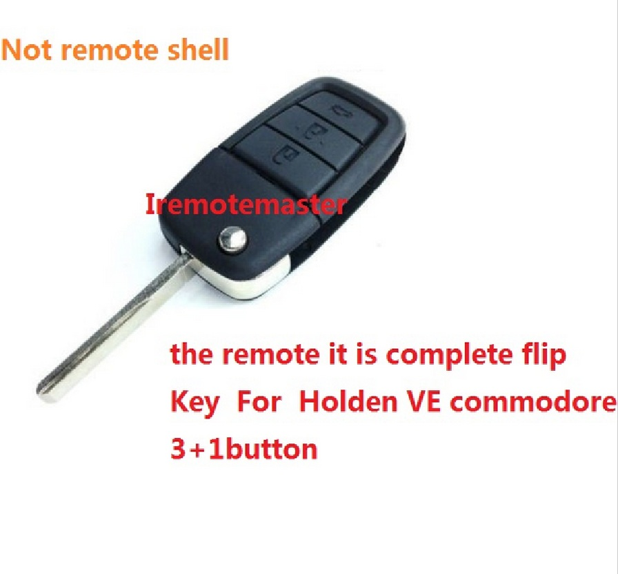 92213311 - 92252257 Remote flip car key for Holden VE Commodore 3 button with horn GM46LCK chip 434 mhz GM45 key high quality