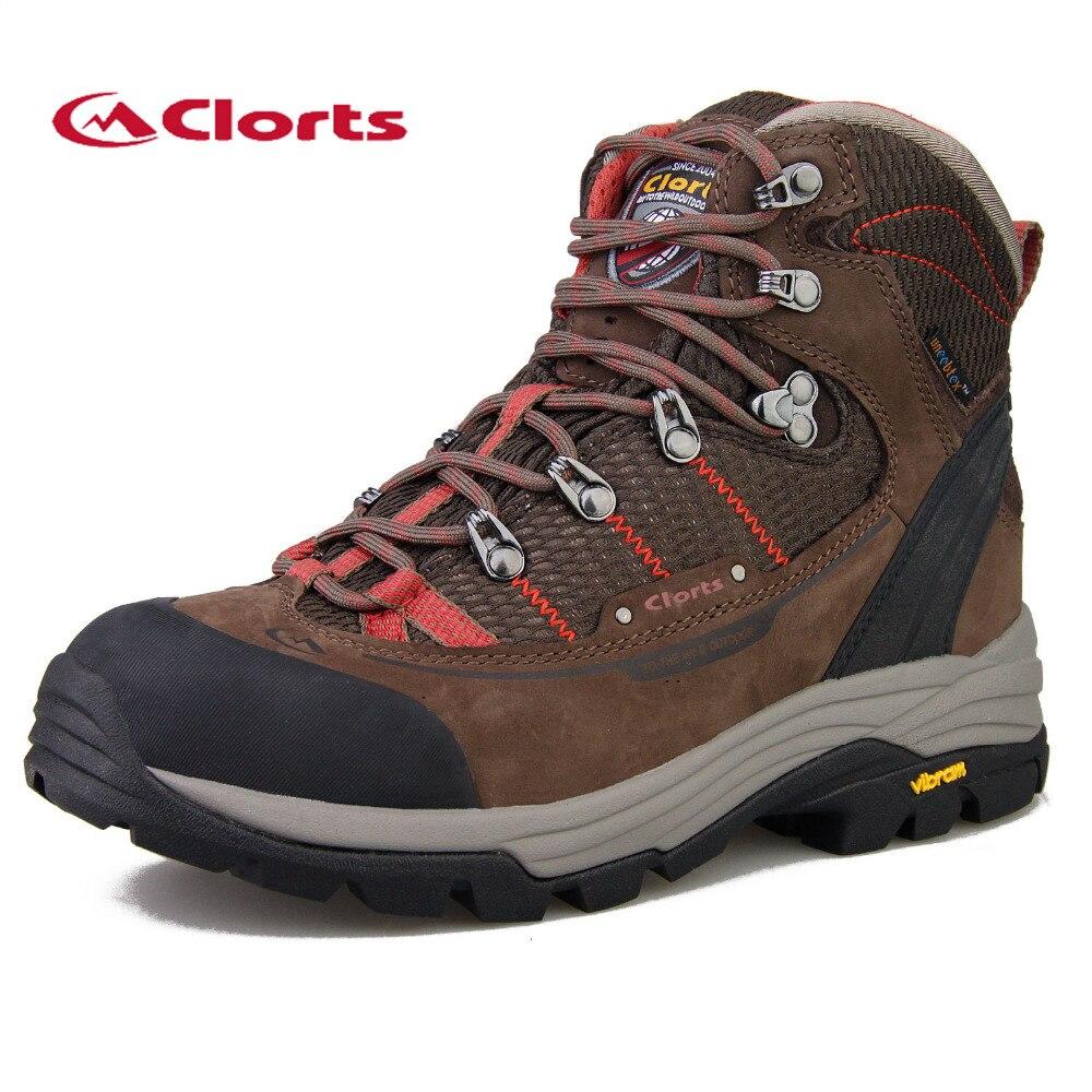 2017 Clorts Women&Kids Hiking Boots Outdoor Trekking Shoes Waterproof Mountain Climbing Shoes For Female Free Shipping 3A003B 2016 man women s brand hiking shoes climbing outdoor waterproof river trekking shoes
