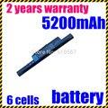 Jigu bateria do portátil para acer aspire 5750g 5755z 5750z 5755g 5755ZG 7551G 7551Z 7552G 7552Z 7560G 7741G 7741TG 7741Z 7741ZG 7750G