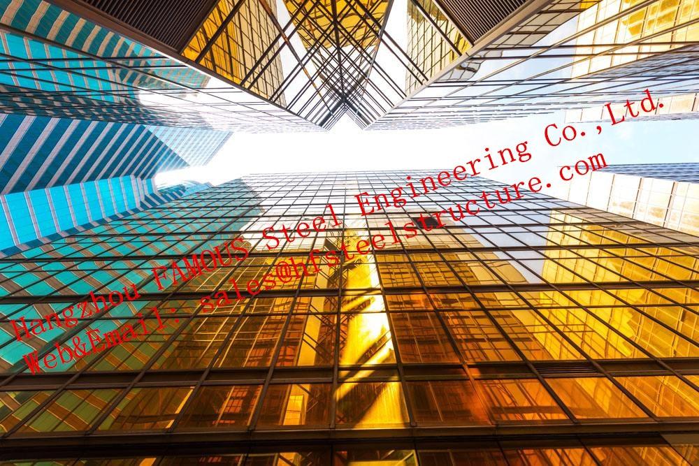 exterior de aluminio doble sistema de fachada de muro cortina de vidrio de construccin de aislamiento por el proveedor de china