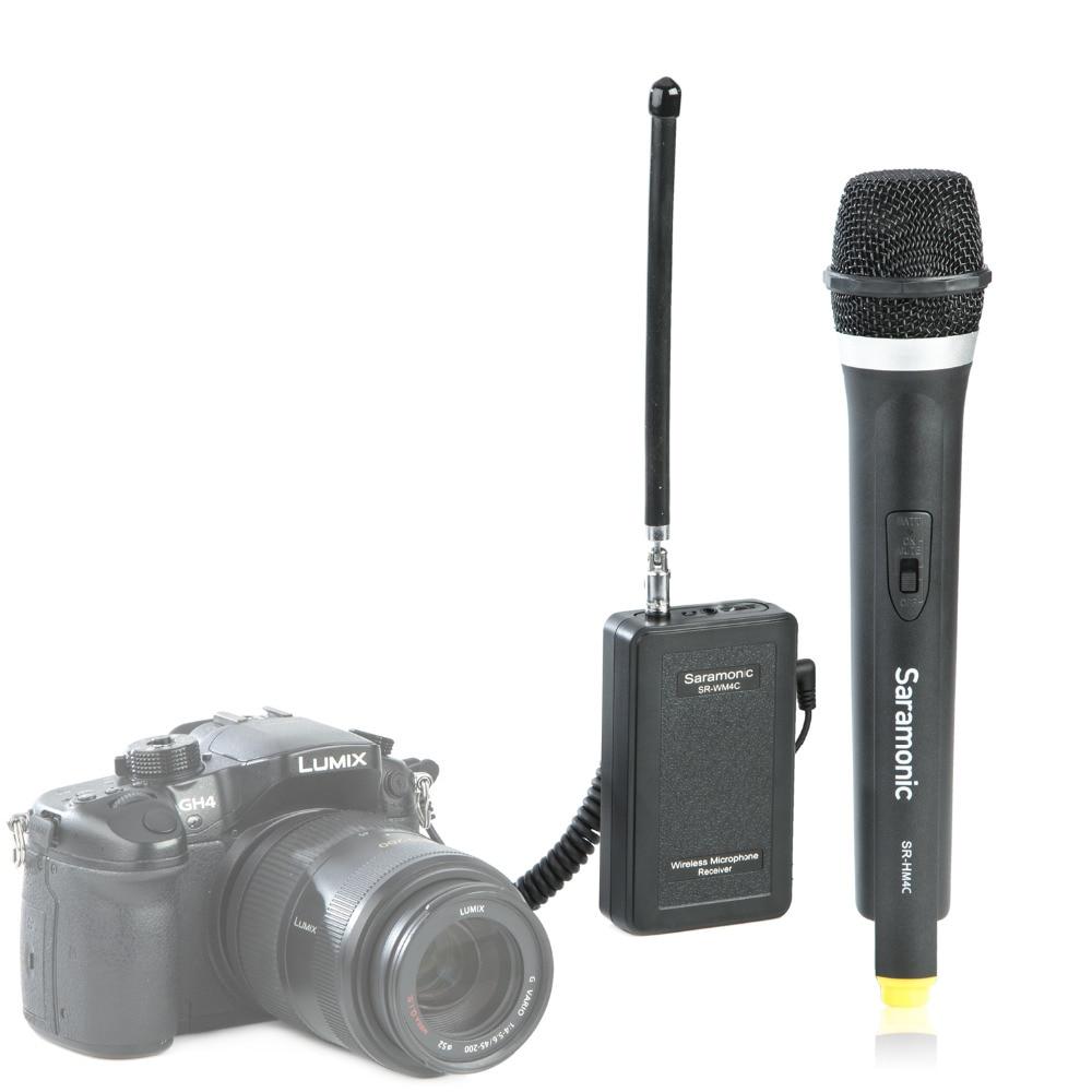 Šaramonski SR-WM4C kamera bežični Lavalier Mikrofon sustav - Prijenosni audio i video - Foto 4