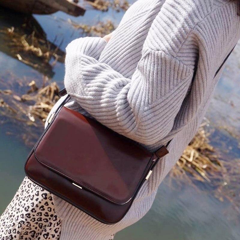 Rétro cent tour couverture, sac d'épaule simple, mode, simple stéréotype oblique satchel