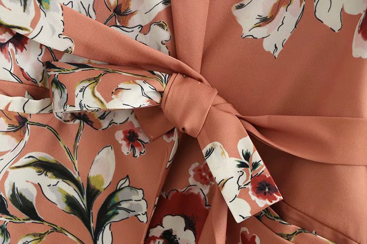 Women's Wear New Photographic Fashion Suit Printed Belt Suit For Women In 2019 Women Jackets And Coats Print Notched Sashes