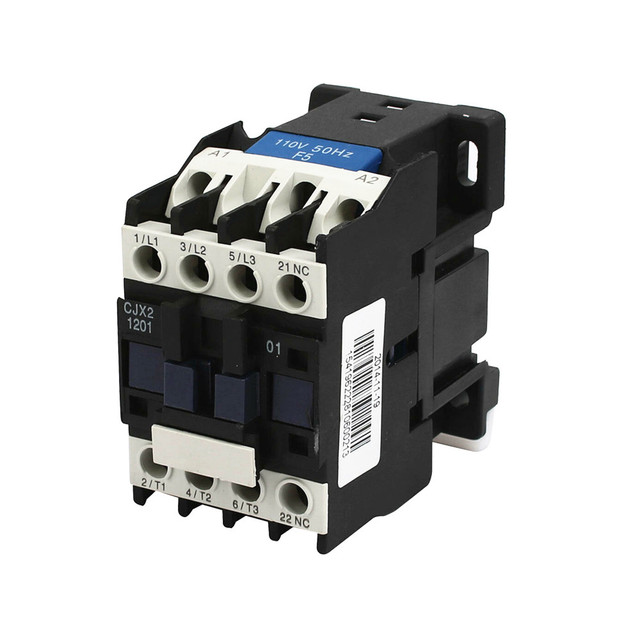 Cjx2 1201 12a 3p Nc Magnetic Ac Electric 3 Pole Contactor