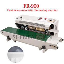 220 V/110 v FR-900 непрерывный автоматический запечатывания пленки машина алюминиевой фольги мешок края герметик машина для упаковки пищевых