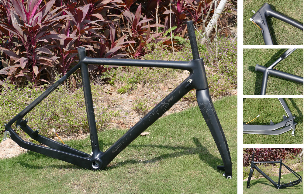 Compra de carbono marco de la bici de ciclocross online al por mayor ...