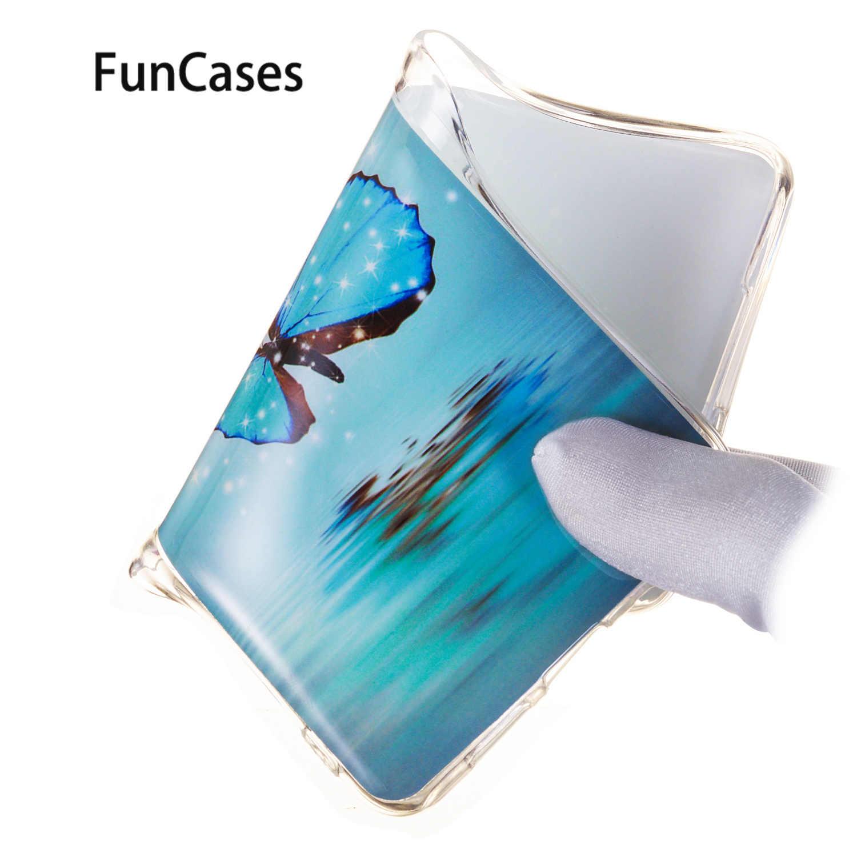Pies miękkie etui z termoplastycznego poliuretanu dla estuche Xiaomi Pocophone F1 geometryczne 4sfor Xiaomi telefoon A2 Lite 8 Case telefon pokrywa ochrony