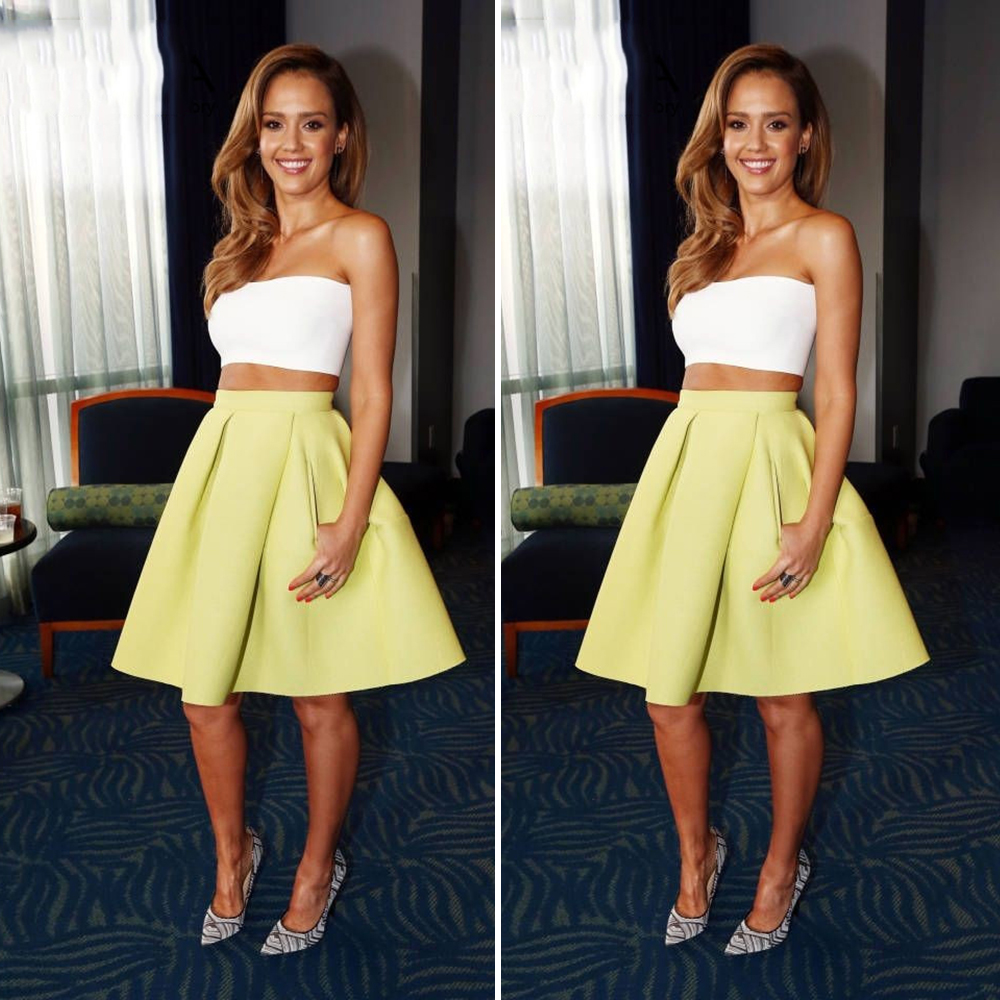 Buy Homecoming yellow dresses picture trends