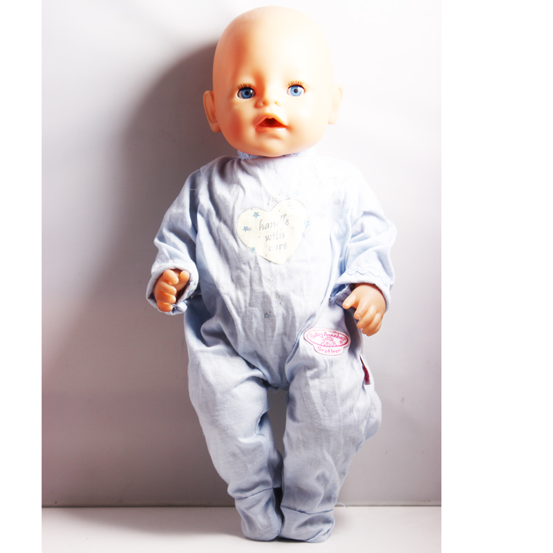 Promotional Items ! Directly Facotry Price 43cm Baby Born Zapf Doll Long Sleeves Jumpsuit Best Gift For Girl Baby ZD66 best price 5pin cable for outdoor printer