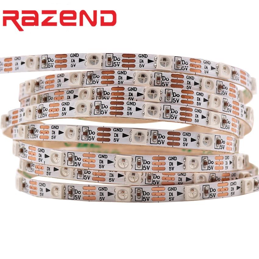 Addressable DC5V SK6812 MINI 3535 5050 RGB led pixel strip RGBW RGBWW RGBNW WWA 1m 2m 60LEDs/m 4mm 5mm FPC 60pixels/M as WS2812BAddressable DC5V SK6812 MINI 3535 5050 RGB led pixel strip RGBW RGBWW RGBNW WWA 1m 2m 60LEDs/m 4mm 5mm FPC 60pixels/M as WS2812B