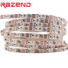 Addressable DC5V SK6812 MINI 3535 5050 RGB led pixel strip RGBW RGBWW RGBNW WWA 1m 2m 60LEDs/m 4mm 5mm FPC 60pixels/M as WS2812B