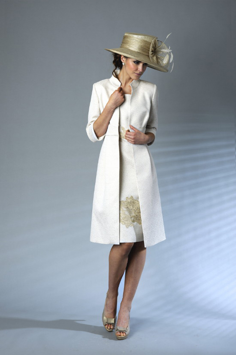 Contemporary Coat Dress Wedding Outfits Frieze - Wedding Plan Ideas ...