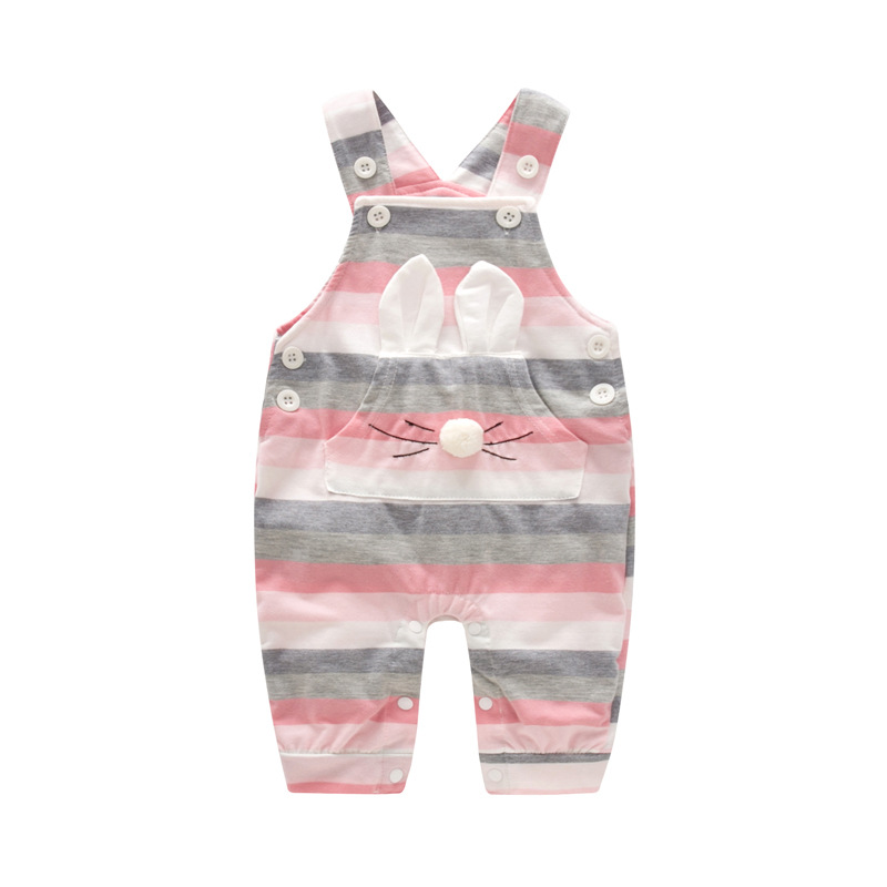 Image 4 - 2020 Fashion Baby Girl Clothes Sets Spring Autumn Clothing long sleeve Romper with hat Baby Set Clothes newborn clothesClothing Sets   -